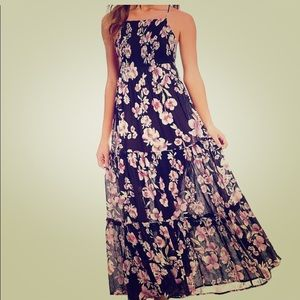 Free People Garden Party floral maxi